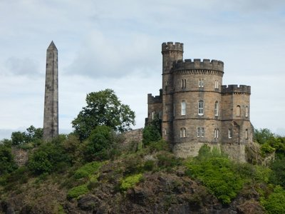 Obelisk on Calton Hill remembers a group of 18th century patriots exiled to Australia for their reform politics
