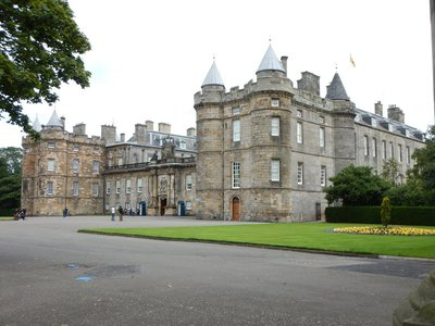 Holyrood Palace was true home of Scotland's Stuart kings during their heyday (think Mary, Queen of Scots)