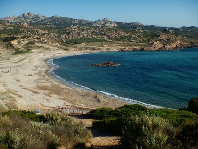 Like most Corsican beaches, Tonnara has no development and is a protected reserve; it was only 15 minutes from Bonifacio