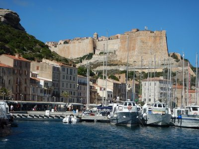 This small town of 2800 swells in the summer with tons of tourists; ferries from Sardinia and lots of pleasure craft contribute to the masses
