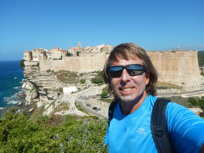Bonifacio is the most gorgeous town in Corsica and one of the most impressively sited anywhere in the world