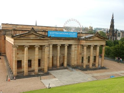 Scottish National Gallery had impressive collection along with Scottish favorites
