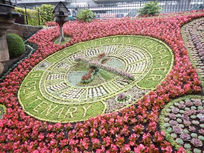 The oldest floral clock in the world dates from 1903