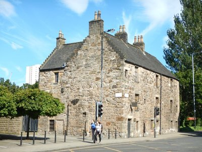 Oldest house in Glasgow, from 1451, is the only secular building in town from the Middle Ages