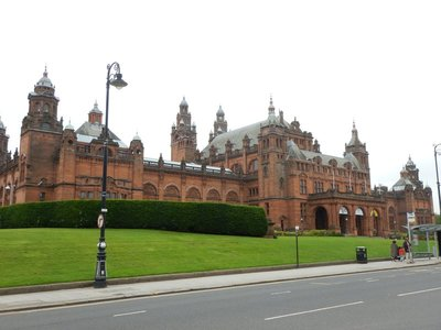 Kelvingrove Museum, an 100  year old Spanish Baroque-style building, is known as the Scottish Smithsonian