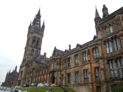 University of Glasgow, founded in 1451, is the fourth oldest university in the English-speaking world