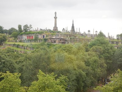 The Necropolis is the 19th century burial hill that was developed as Glasgow's population exploded with the Industrial Age