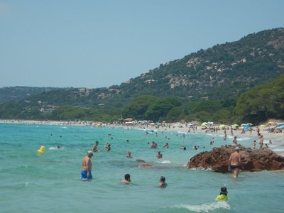 It's amazing how crowded these beaches are since it doesn't seem like there are enough accommodations in the area
