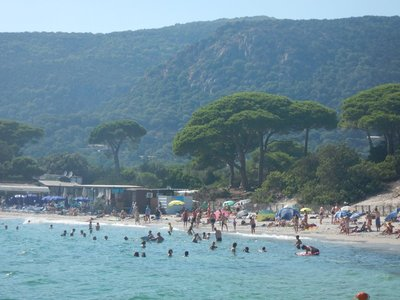 Plage de Palombaggia, like many of the other southern Corsica beaches, didn't have free parking but it was only 5 euros which was OK