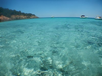 Like Sardinia, the best beaches on Corsica are on the southeast coast; the water is amazingly clear and the weather sunny and not too hot
