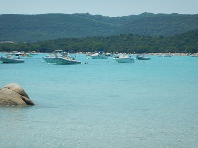 Most of the popular Southern Corsica beaches are also very popular boating destinations which makes swimming/snorkeling more stressful