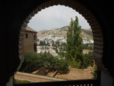 At the Alhambra the flag of Ferdinand and Isabella was first raised as a symbol of the conquest of Granada on January 2, 1492