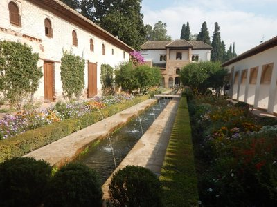 Court of the Water Channel is thought to best preserve the style of the medieval Persian garden