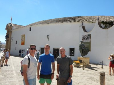 Fun traveling with these 3 in Spain; Ben does get to be a little much after about 5 minutes though :-)