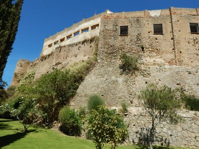Old city walls and castle remains; Alexander Dumas, Orson Welles and Hemingway all spent time writing in Ronda