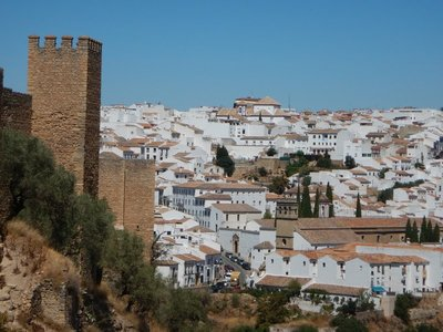 Ronda is an atmospheric town, crowded with tourists, with an evocative, still-tangible history