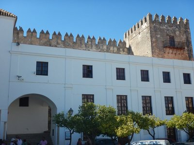 15th century Arcos Castle is a medieval fortress of Moorish origin; like many of the sights, it is not open to the public
