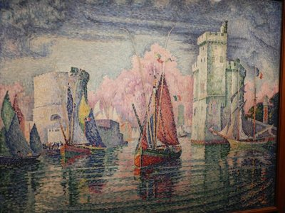 Signac, Port Entrance at La Rochelle, 1921