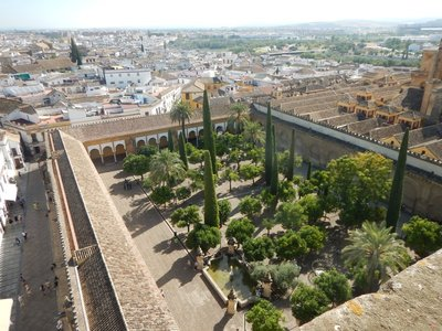 The Patio de la Naranjas of the Mezquita was the ablutions area of the former mosque