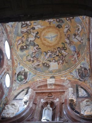 In 1271, instead of destroying the mosque, Christians modified it by building a church inside