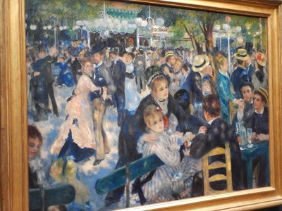 Renoir, Ball at the Moulin de la Gallette, 1876