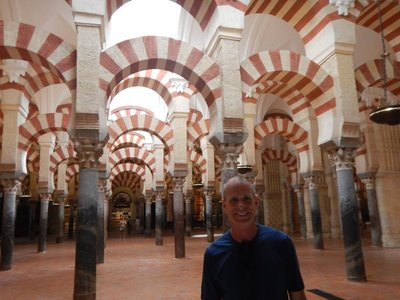 Lee and I had visited the Mezquita before but it's truly awe-inspiring even a second time