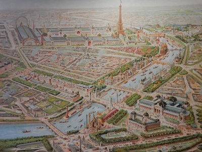 Grivell, View of Paris Universal Exposition 1900, 1900
