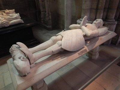 Tomb of Charles VII, King of France from 1422 to 1461; he ruled in the middle of the Hundred Years War and, along with help from Joan of Arc, gained most of the territory of modern day France