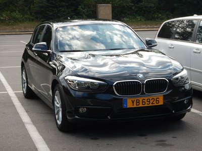 My SIXT rental car in Luxembourg is a BMW!; it wasn't expensive so I was surprised to get a BMW
