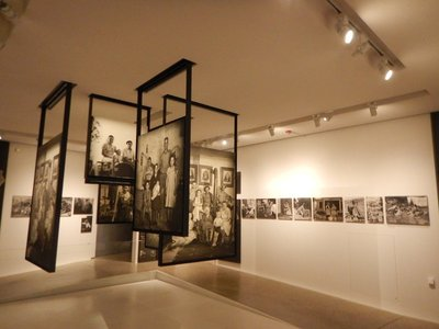 Each room of the exhibition had a different theme; The Family of Man has a permanent home at Clervaux Castle since that was the wish of Edward Steichen who was born in Luxembourg