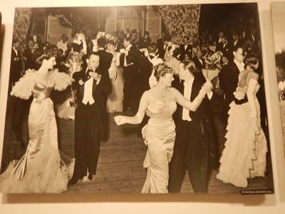 A ball hosted by French royalty; Steichen is credited as being the first fashion photographer with photos of gowns from 1911