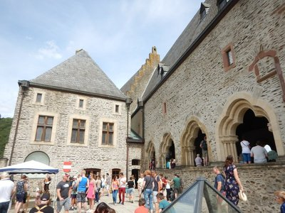 Vianden Castle had an application pending which would have made it a UNESCO World Heritage Site but it was frozen until some buildings in town were repaired and more community involvement obtained