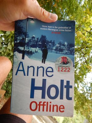 Her series of mysteries are set in Oslo; I laid on a park bench to finish this book which was better than the stifling heat in my hotel room