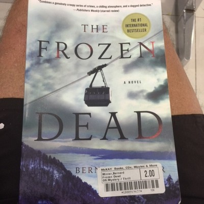 The novel is set in the French Pyrenees and, despite a slow start, this book became engrossing with a sinister plot; it was the best of the first few books I read on the trip