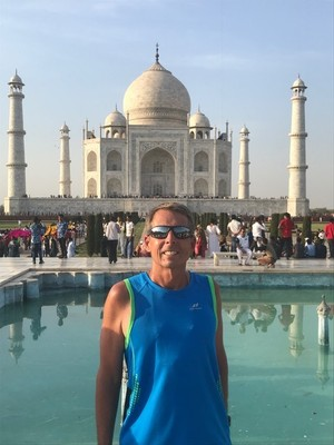 The Taj Mahal was designated a UNESCO World Heritage Site for being the jewel of Muslim art in India and one of the universally admired masterpieces of the world's heritage; it was the only place we saw in Agra