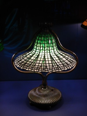 Bell Lamp and Lotus Shade (ca. 1900-06); the Arlington Street Church in Boston has 16 Tiffany windows of a set of 20 but it was closed for renovations on my last visit