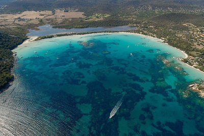 Southern Corsica has some gorgeous bays, like Santa Giulia; I visited the north side which is sandy but the southern side would probably have been better