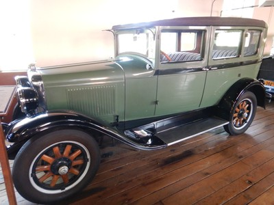 Antique Car Museum at Grove Park Inn in Asheville, NC - The