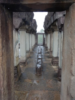 By the 20th century, much of the Baphuon temple had largely collapsed, and restoration efforts took on an epic quality; in April 2011, after 51 years of work, the restoration was completed and the temple formally re-opened