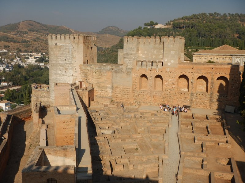 Barrio Castrense was a military garrison within the Alcazaba; could easily spend an entire day exploring the Alhambra
