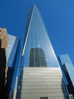I've visited the 9/11 Memorial a couple of times so skipped it on this trip; One World Trade Center (ie Freedom Tower) is still jaw-dropping as the tallest building in the Western Hemisphere (the same architect designed Willis Tower and Burj Khalifa)
