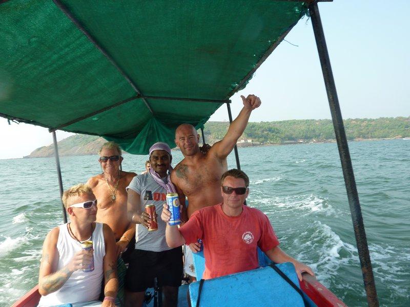 Fishing trip in Arabian sea