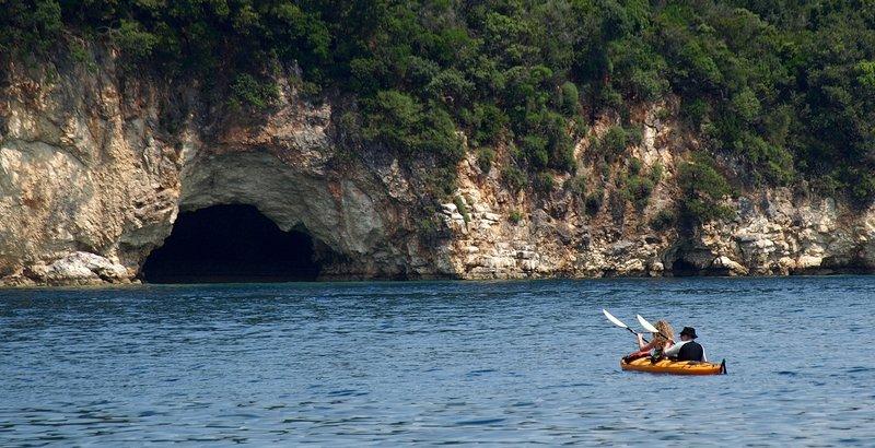Small Cave, Lefkada Island