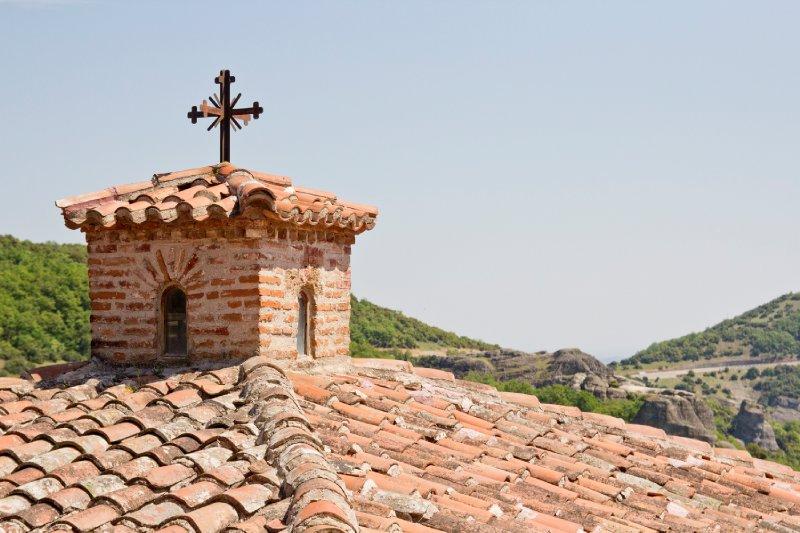 roofs of Meteora