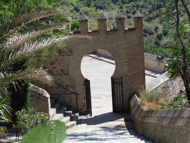 Archway in Toledo, Spain