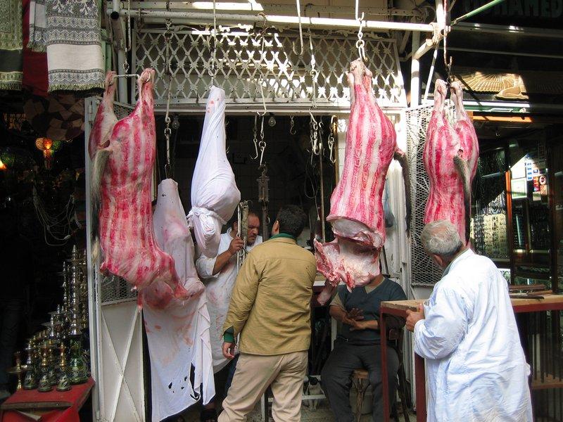 Egypt- butcher