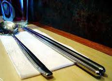 Korean Airlines stainless steel chopsticks