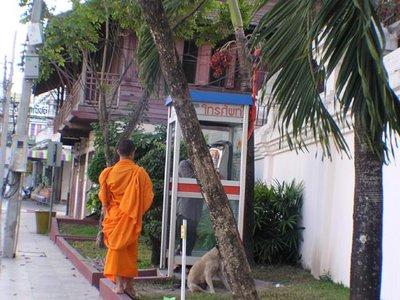 Monk of telephone