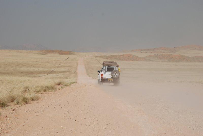 de camino a Sossuvlei
