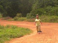 At the Guinea-Liberia (Ganta) Border
